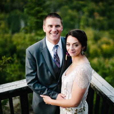 Krissy and Jordan - Lutsen Wedding