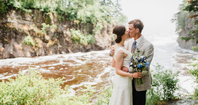 Matt and Laurel - Lutsen Mountains - North Shore Wedding Photography