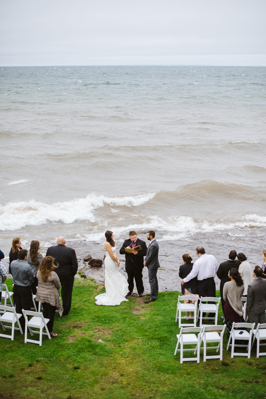 Larsmont Cottages Wedding Ceremony