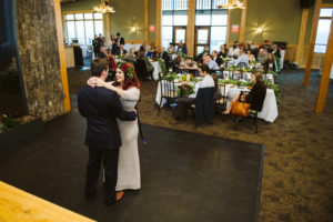 Lutsen Mountains Summit Chalet First Dance