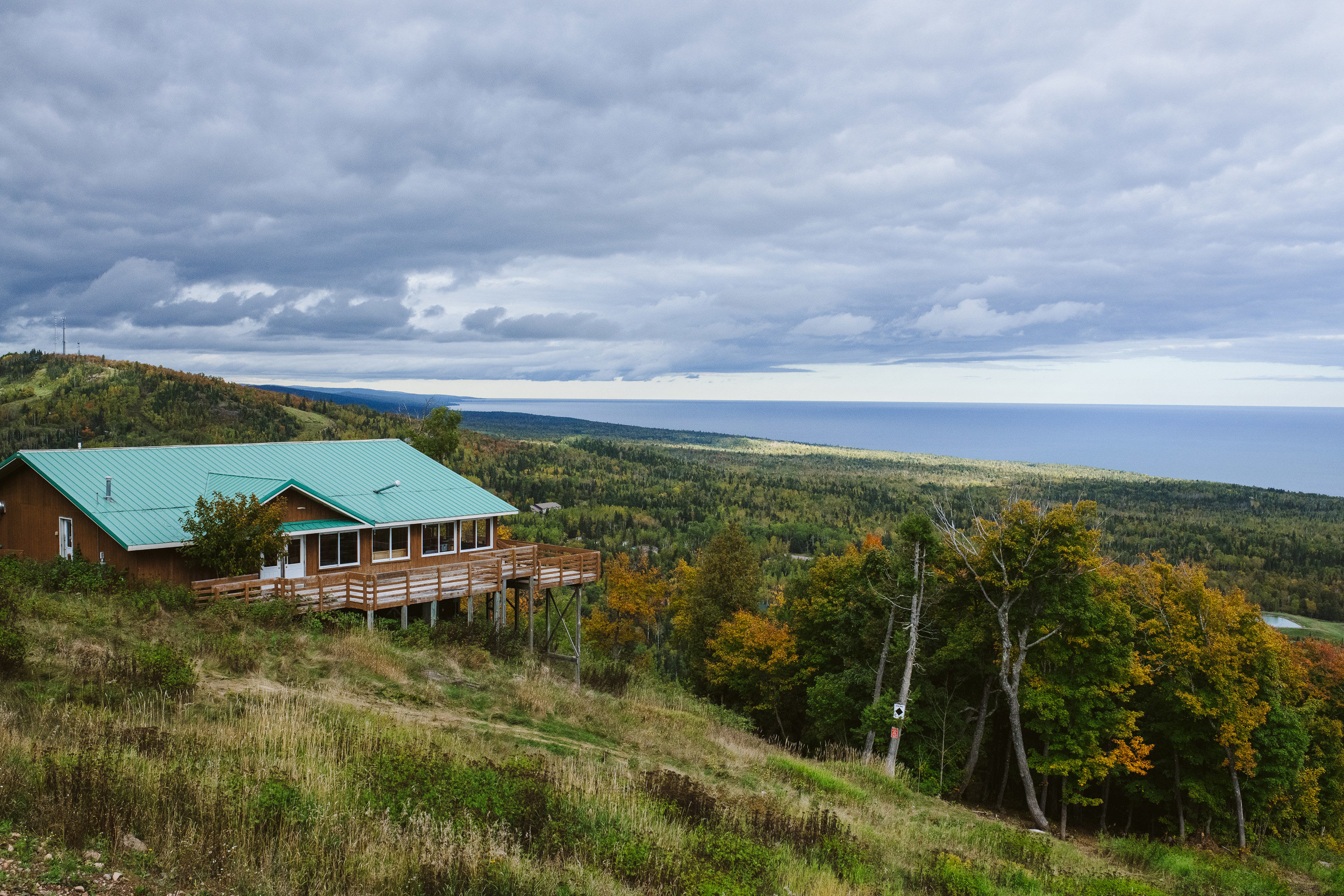 Lutsen Mountains Summit Chalet Over Looking Lake Superior