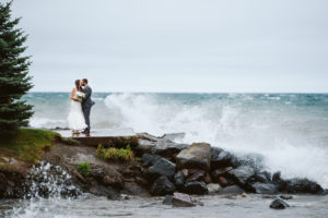 Lake Superior Waves Wedding
